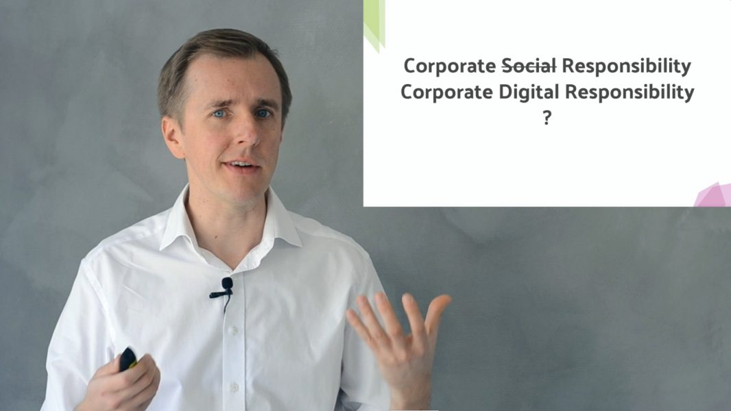 Was ist Corporate Digital Responsibility (CDR)? – Eine allgemeine Einführung 🍿